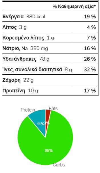 Νιφάδες βρώμης 100g