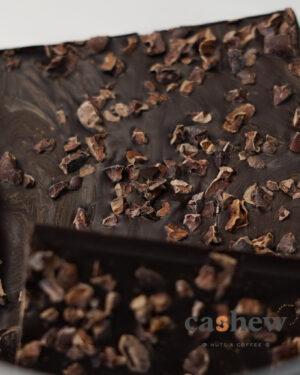 Πλάκα Κουβερτούρα 96% Κακάο Flakes